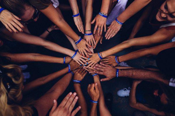 world peace gathering image
